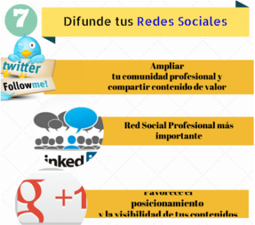 Marca Personal o Personal Branding - Difunde tus redes sociales