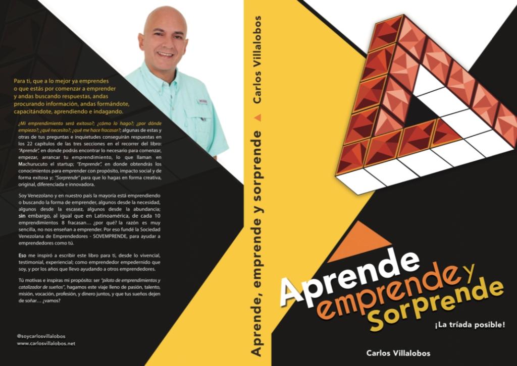 Libro Aprende Emprende y Sorprende por Carlos Villalobos