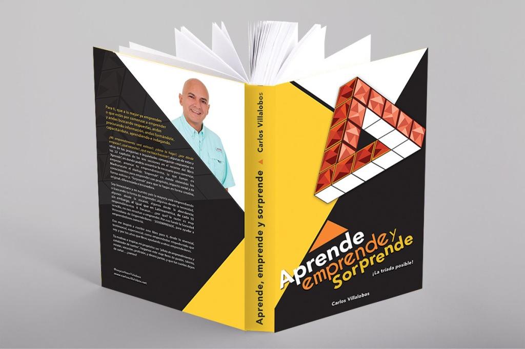 Libro Aprende, Emprende y Sorprende por Carlos Villalobos