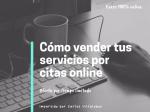 Como vender tus servicios por citas online
